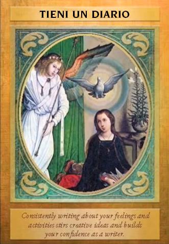 tieni un diario arcangelo gabriele