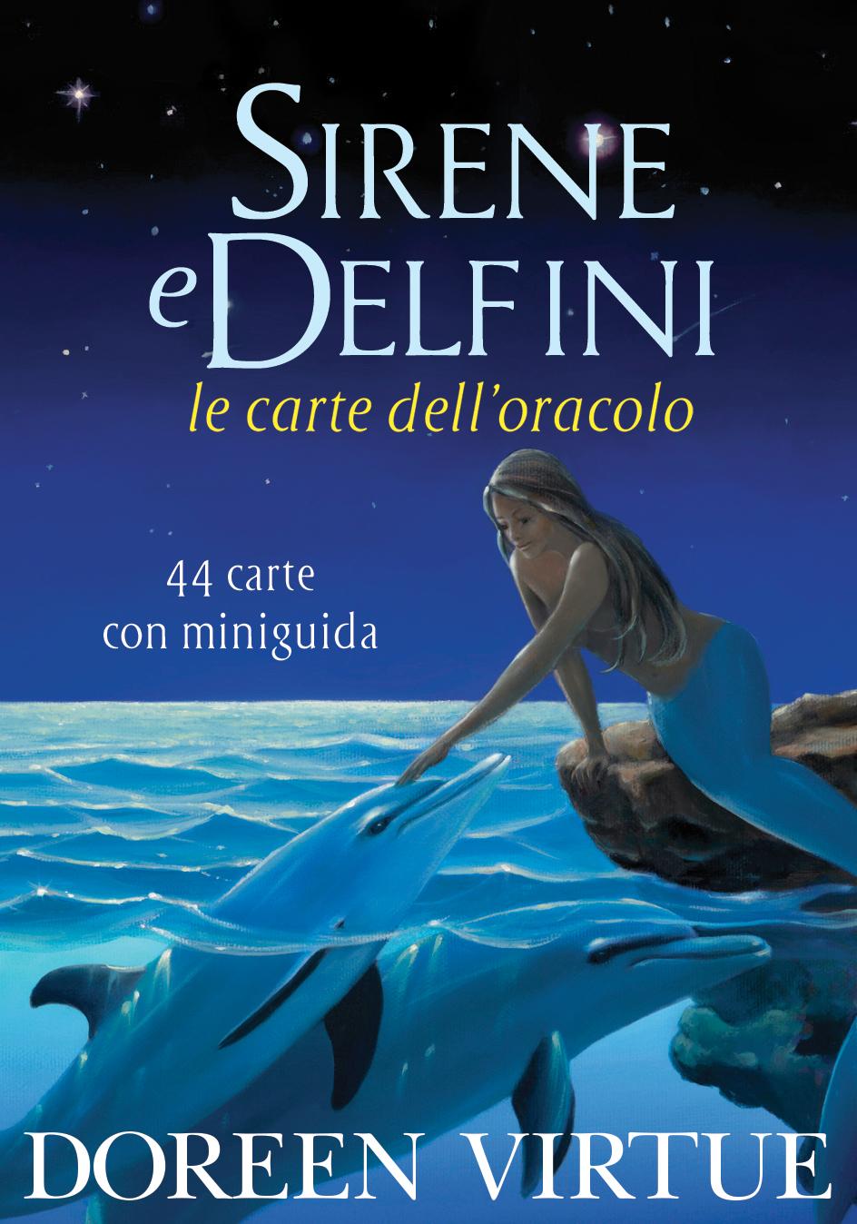 cover carte sirene e delfini