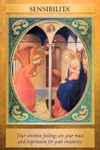 03 carta arcangelo gabriele - sensibilità