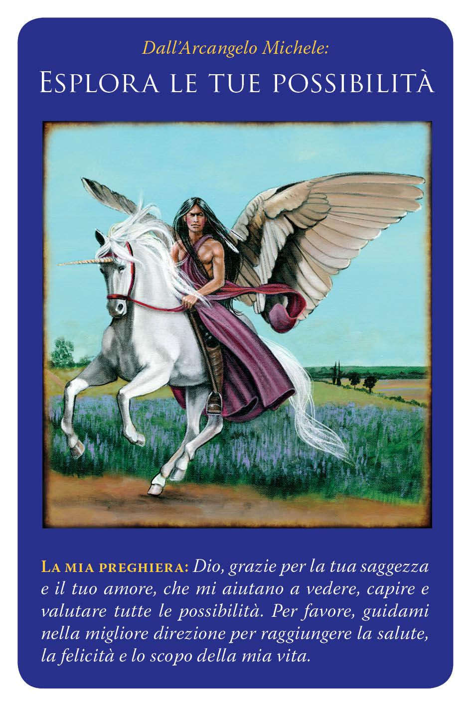 carte arcangelo michele - esplora le tue possibilità