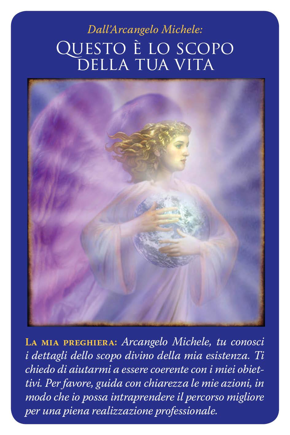 carte arcangelo michele - questo è lo scopo della tua vita