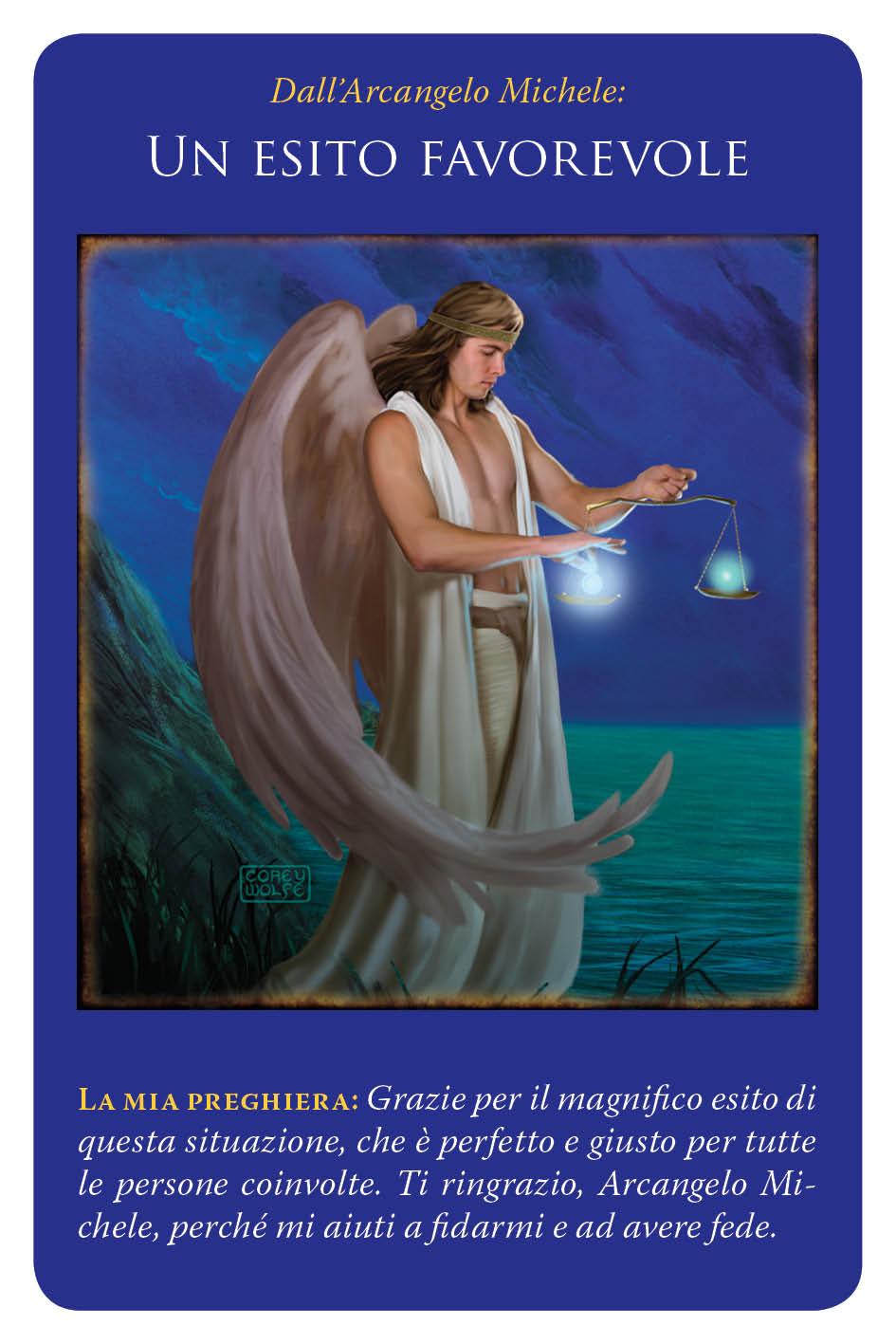 carte arcangelo michele - un esito favorevole