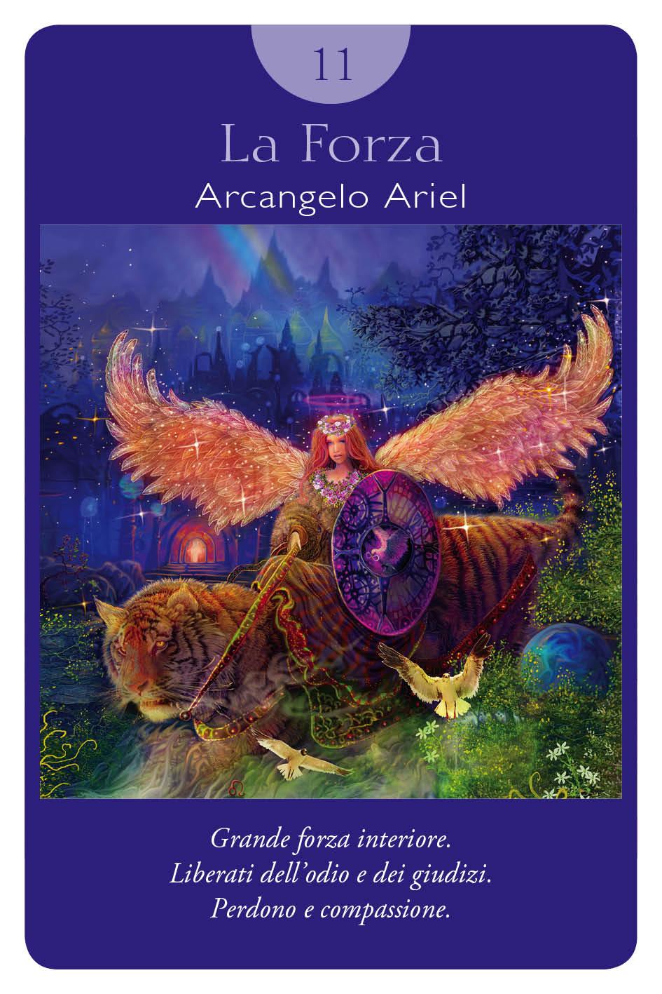 la forza tarocchi angeli